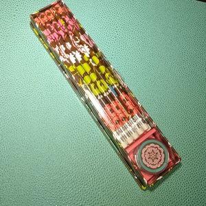 Vera Bradley pencil box set
